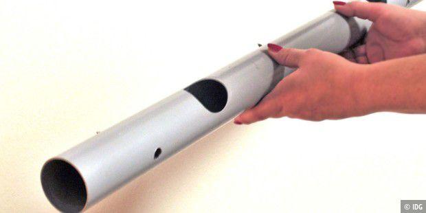 selbstbaul sung kabel in kabelrinne gut verstaut pc welt. Black Bedroom Furniture Sets. Home Design Ideas