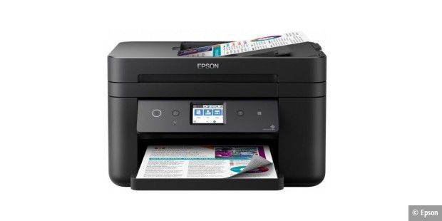 Insgesamt ein sehr gutes Preis-Leistungs-Verhältnis erreicht der Tinten-Multifunktionsdrucker Epson Workforce WF-2860DWF im Test.