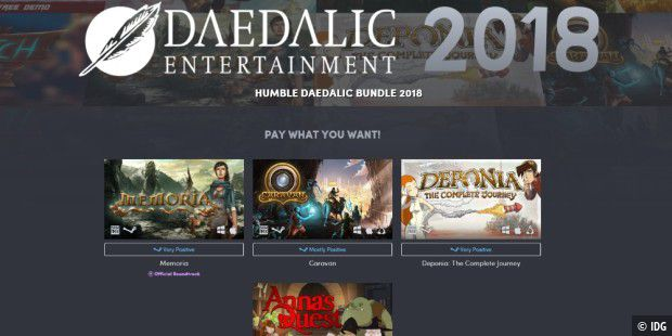 Das Humble Daedalic Bundle 2018