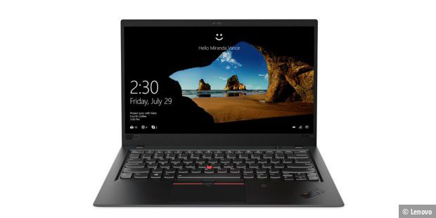 Business-Notebook im Test: Lenovo Thinkpad X1 Carbon 2018