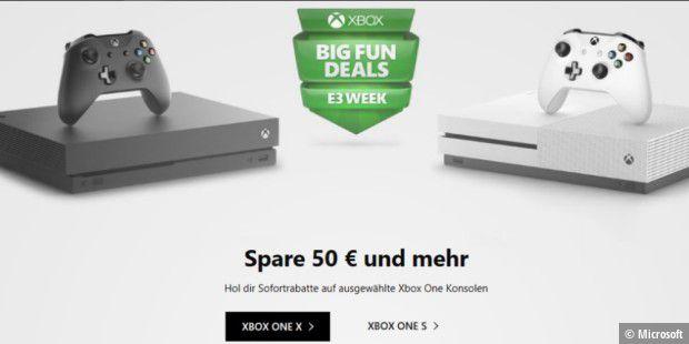 Xbox One X Und Xbox One S Aktuell Im Angebot Pc Welt