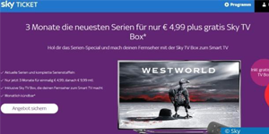 Sky Ticket Entertainment: 3 Monate für nur 5 Euro