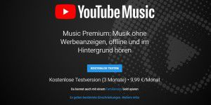 Youtube Music: Musikdienst startet in Deutschland