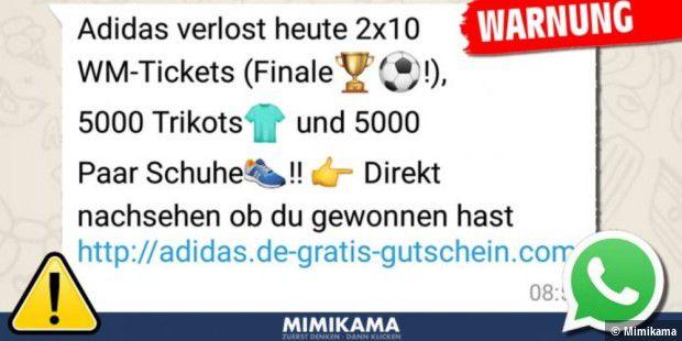Whatsapp: Warnung vor Fake Gewinnspiel zur WM 2018 PC WELT