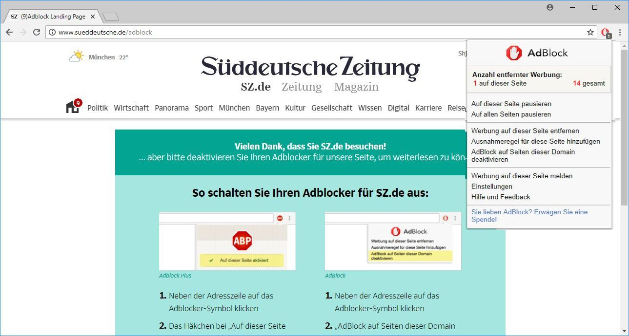 How to disable adblock plus in chrome   Here's How To Disable An Ad