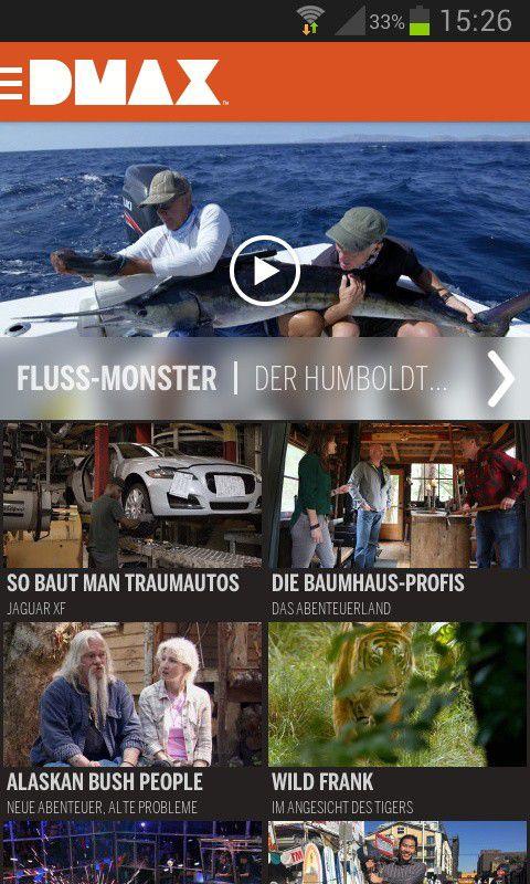 Dmax Tv App