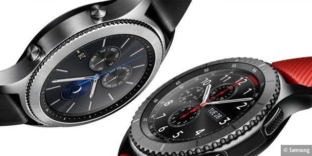 galaxy watch ger chte um samsungs neue smartwatch pc welt. Black Bedroom Furniture Sets. Home Design Ideas