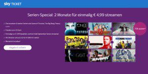 Sky Ticket: Serien- und Supersport-Ticket im Angebot