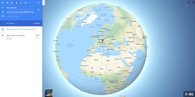 Google Maps zeigt Erde jetzt als Globus – realistische ...
