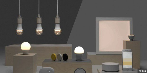 ikea tradfri in philips hue integrieren und per alexa steuern pc welt. Black Bedroom Furniture Sets. Home Design Ideas