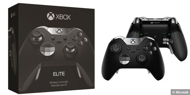 Der Microsoft Xbox One Elite Wireless Controller