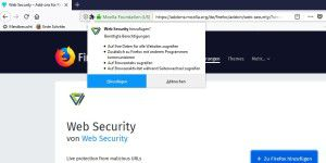 Web-Security: Firefox-Add-On-Macher entschuldigen sich