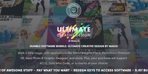Humble Software Bundle: Creative Design by MAGIX
