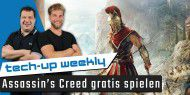 Assassins Creed gratis spielen | Windows 10 Update für Gamer - Tech-up Weekly #134