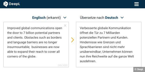 DeepL: Deutsche Konkurrenz für Google Translator? - PC-WELT
