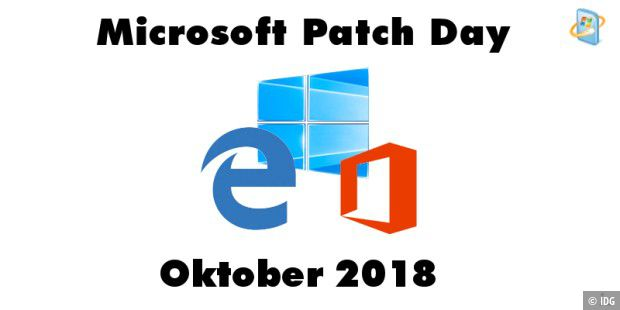 Patch Day Oktober 2018