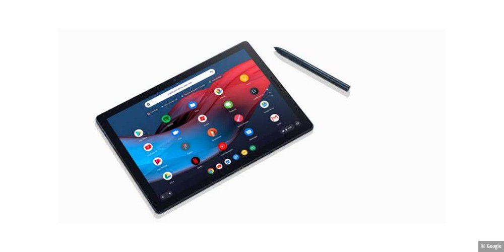 google slate tablet und hub mit display aber ohne kamera pc welt. Black Bedroom Furniture Sets. Home Design Ideas