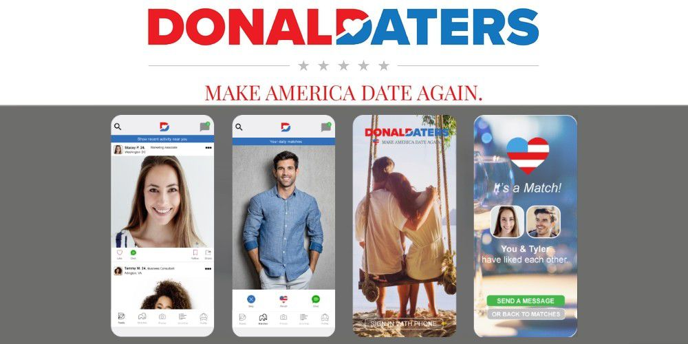 Canadian dating app trump
