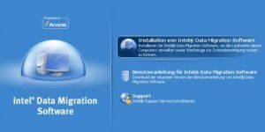 Gratis-Tool: Intel Data Migration Software