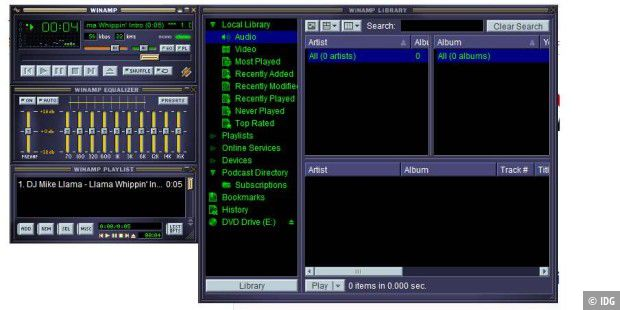 Download: Winamp 5.8 Build 3660 für Windows