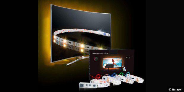 led hintergrundbeleuchtung f r den tv kaufempfehlung pc welt. Black Bedroom Furniture Sets. Home Design Ideas