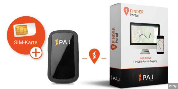 allround finder von paj gps tracker im test pc welt. Black Bedroom Furniture Sets. Home Design Ideas