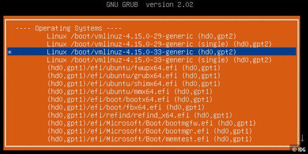 Grub-Probleme und ihre Lösungen - PC-WELT