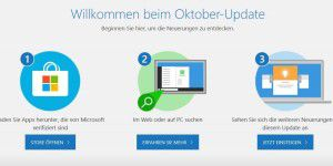 Windows 10 Oktober 2018 Update: Heute Neustart?