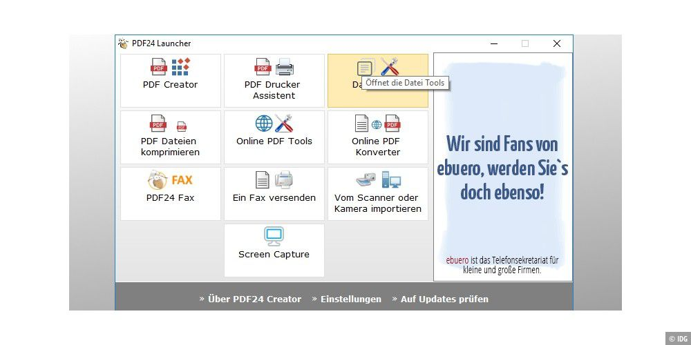 PDF24-Creator - PC-WELT