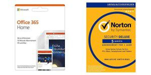 40% Rabatt auf Software Bundle Microsoft+Norton