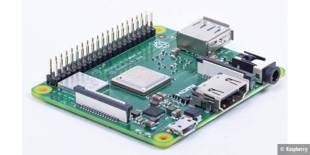 Der neue Raspberry Pi 3 Model A+.