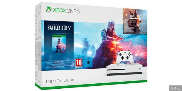 130 euro sparen bei xbox one s bundle battlefield 5 pc welt. Black Bedroom Furniture Sets. Home Design Ideas