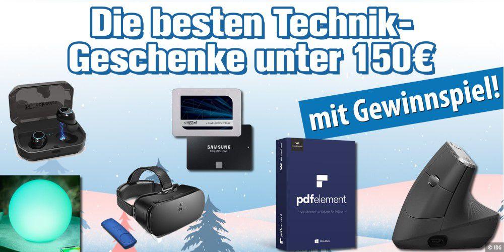 Anzeige: Die besten Technik-Geschenke ab 150 Euro (Weihnachten 2018 ...