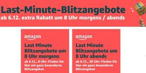 Amazon Last-Minute-Angebote am 12.12.