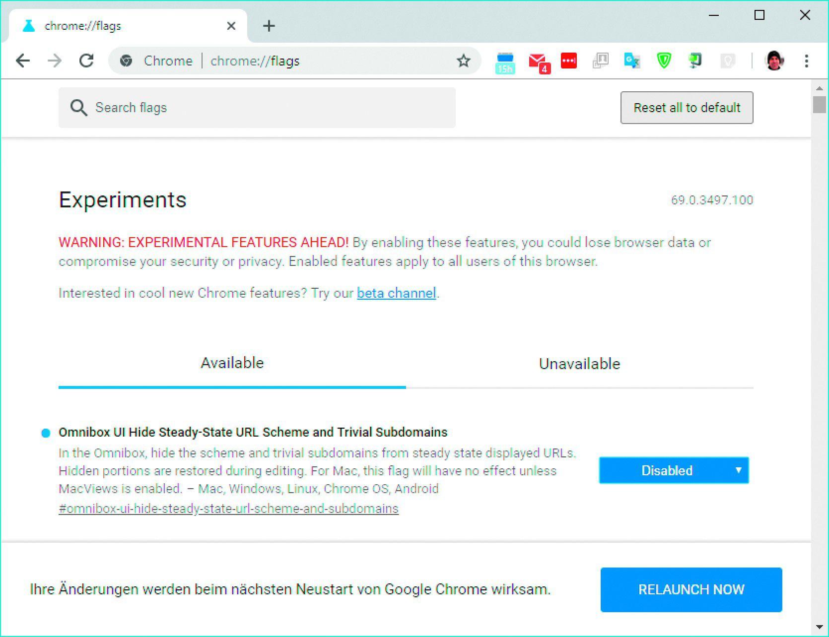 Google Chrome Komplette URL anzeigen lassen   PC WELT