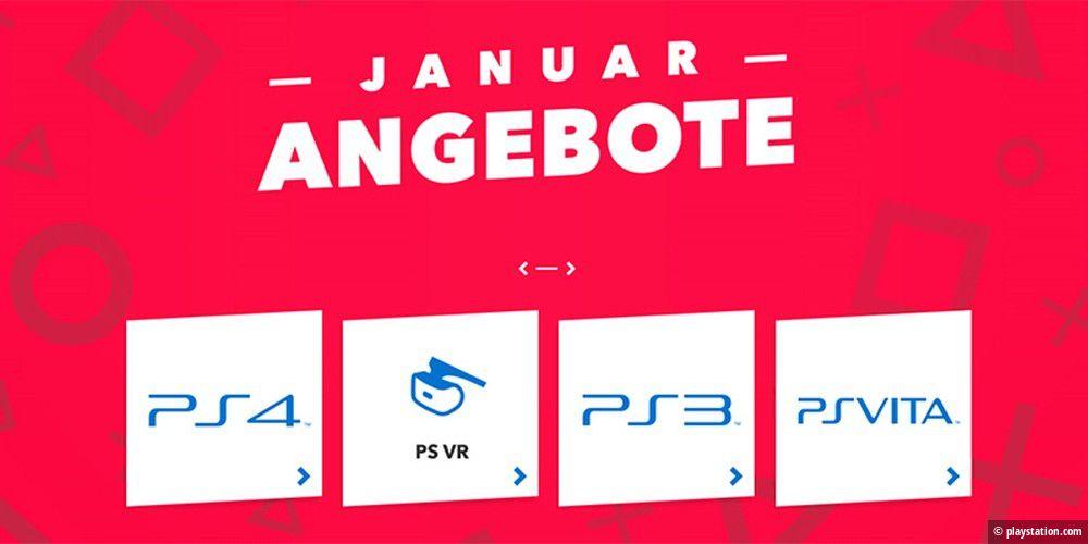 PS4: Neue Januar-Angebote im Playstation Store