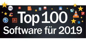 Top 100: Die beste Software für 2019