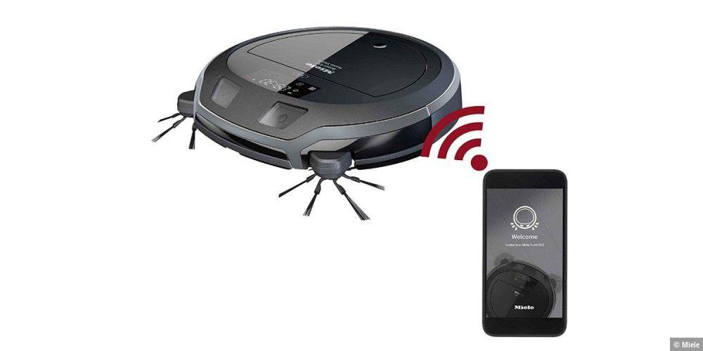 Test: Miele Scout RX2 Home Vision mit Überwachungskamera