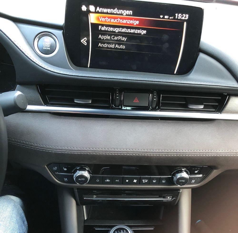mazda mzd connect im test carplay android auto dab cd. Black Bedroom Furniture Sets. Home Design Ideas