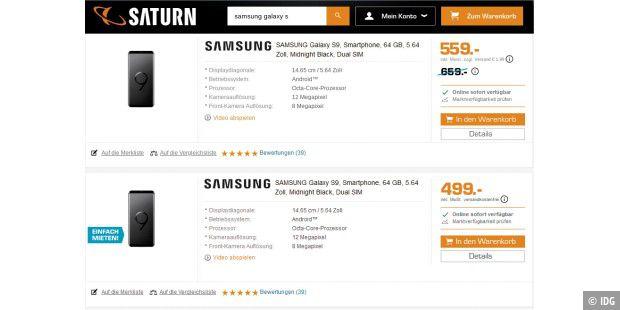 buy popular 7b97b 62c51 Online-Shopping: Die Tricks der Vergleichsportale - PC-WELT