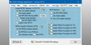 Codec-Package: Advanced Codecs for Windows 7/8/10