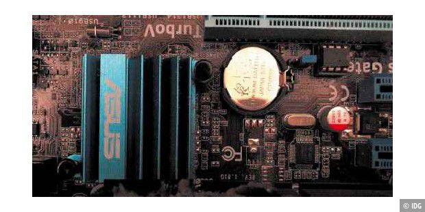 Haken-up-Fan zum Motherboard