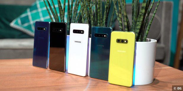 Samsung Galaxy S10e Gelb