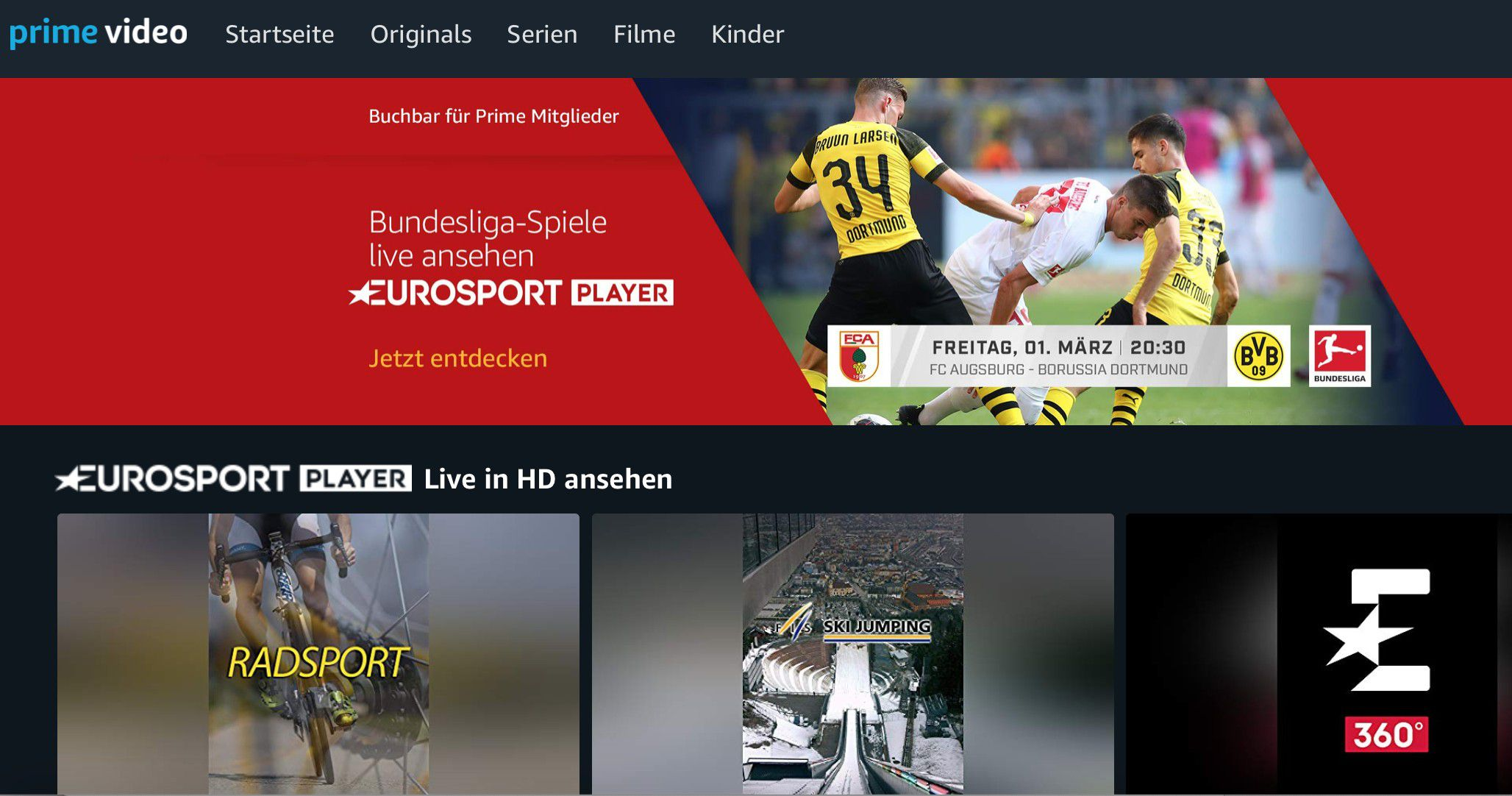 Amazon Eurosport Player Kündigen