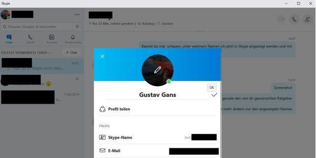 Skype Name ändern So Benennen Sie Sich Bei Skype Um Pc Welt