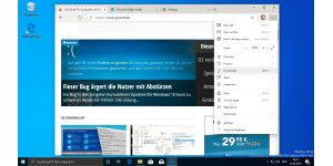 Neue Screenshots: Edge mit Chrome-Engine im Check