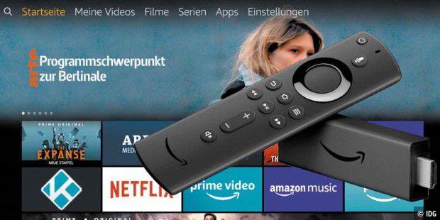 amazon fire tv stick 4k so nutzen sie das ger t pc welt. Black Bedroom Furniture Sets. Home Design Ideas