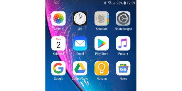 Samsung galaxy s8 wechselnder hintergrund
