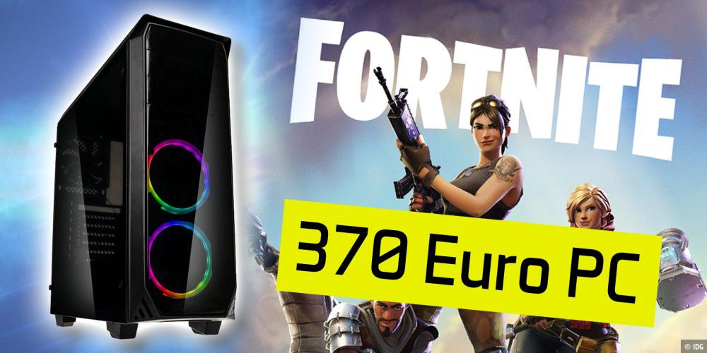 370 Euro Gaming-PC - Einrichtung & Gaming-Test mit Fortnite, CS:GO & Assassin's Creed Odyssey