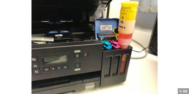 Tintentank die Zweite: Canon Pixma G6050 im Test - PC-WELT